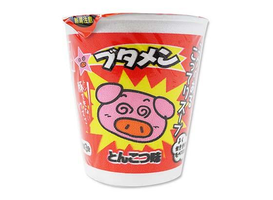 【おやつカンパニー】 カップ ブタメンとんこつ (30個入)