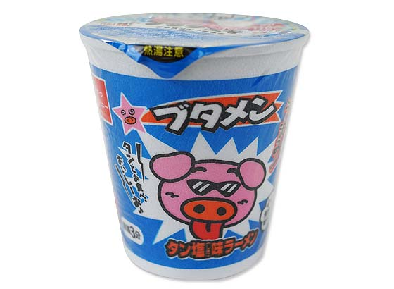 駄菓子のまとめ買い・ラーメン系の駄菓子 おやつカンパニー カップブタメンタン塩(30カップ入)