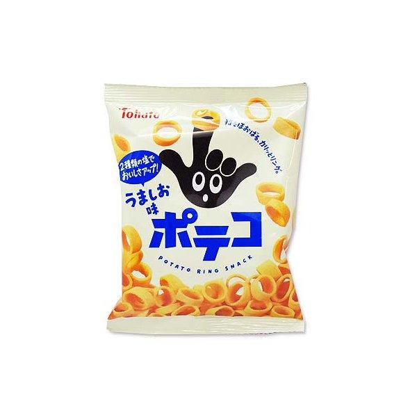 東ハト ポテコ うましお味(10個入) 駄菓子 まとめ買い 小ロット スナック お菓子