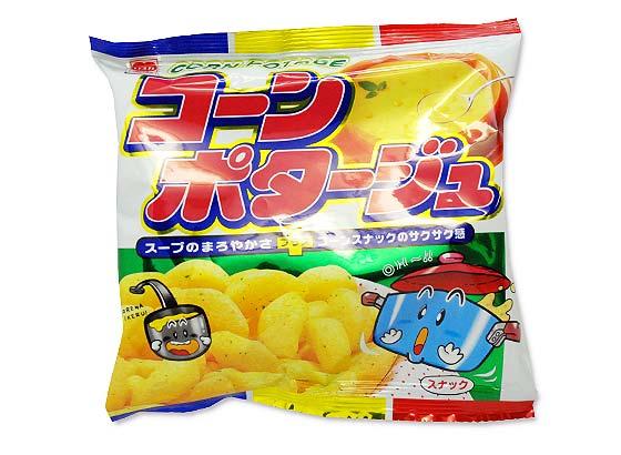 【駄菓子のまとめ買い・スナック系駄菓子】 リスカ コーンポタージュ (30袋入)