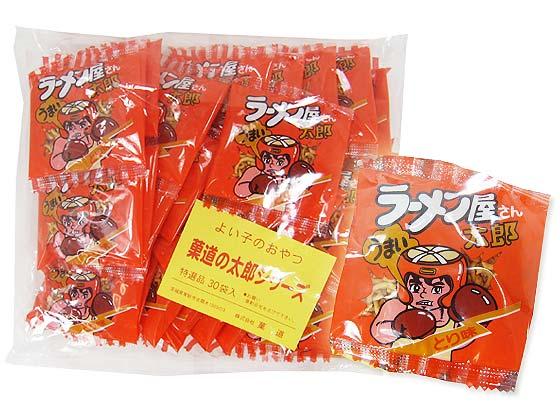 【駄菓子のまとめ買い・ラーメン系の駄菓子】 菓道 ラーメン屋さん太郎 (30個入)