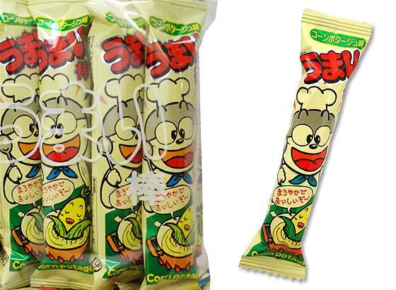 【駄菓子のまとめ買い・スナック系駄菓子】 やおきん うまい棒 コーンポタージュ (30個入)