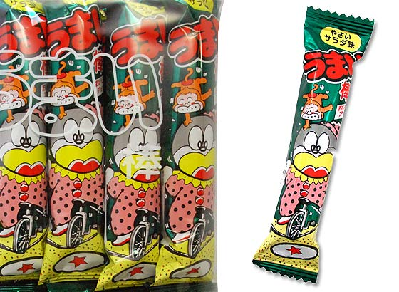 【駄菓子のまとめ買い・スナック系駄菓子】 やおきん うまい棒 サラダ (30個入)