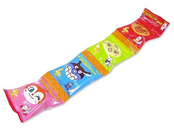 【お菓子のまとめ買い・スナック系のお菓子】 東ハト それいけ!アンパンマン キャラメルコーン 4パック (10連入り)