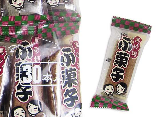 【駄菓子のまとめ買い・カステラ・ビスケット系の駄菓子】 やおきん ふ菓子(30個入)