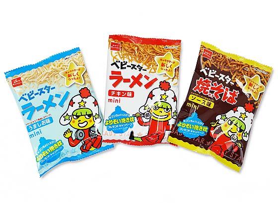 【駄菓子詰め合わせ】 おやつカンパニー ベビースターラーメン3種セット (30袋入)