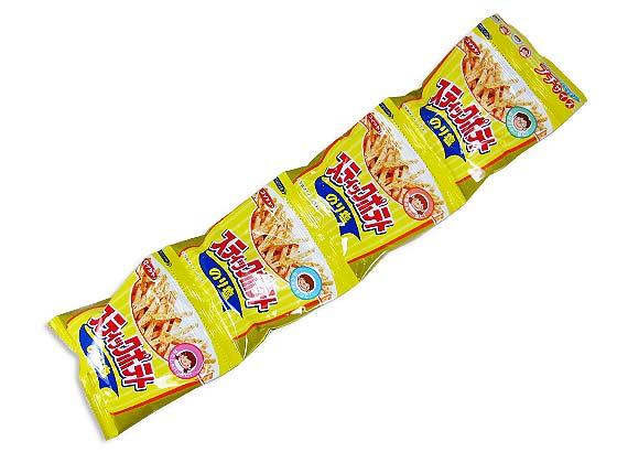 【お菓子まとめ買い・スナック菓子】 15g×4袋スティックポテト ミニ 4パック  (10袋) 【 コイケヤ 】