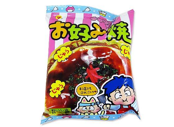 【駄菓子のまとめ買い・スナック系駄菓子】  テキサスコーン お好み焼き(30個入)【松山】