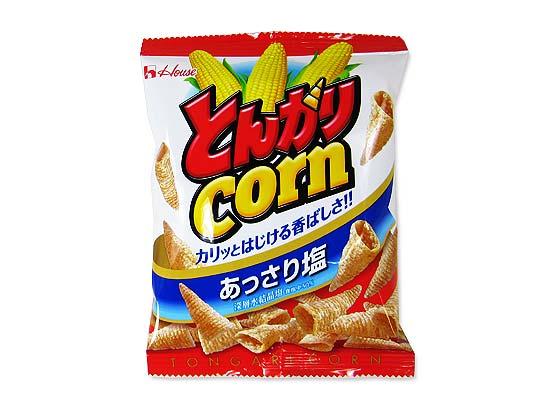 【駄菓子のまとめ買い・スナック系駄菓子】  21gとんがりコーン(20個入) 【ハウス】