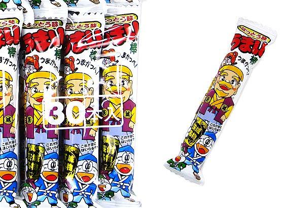 【駄菓子まとめ買い・スナック菓子】うまい棒 なっとう味(30個入) 【やおきん】