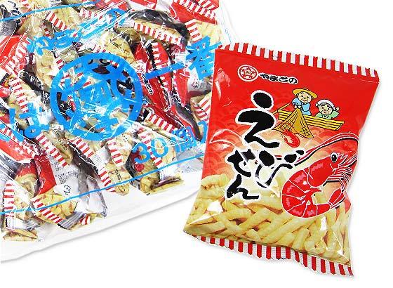 【駄菓子のまとめ買い・スナック系駄菓子】 やまと えびせん (30個入) 業務用
