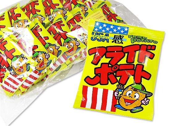 【駄菓子のまとめ買い・スナック系の駄菓子】 菓道 フライドポテト  (30個入)