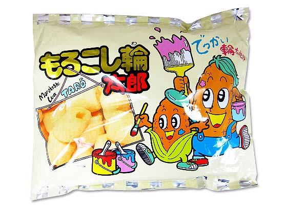 【駄菓子のまとめ買い・アミューズメント系駄菓子】 やおきん 特大もろこし輪太郎 (20袋入)