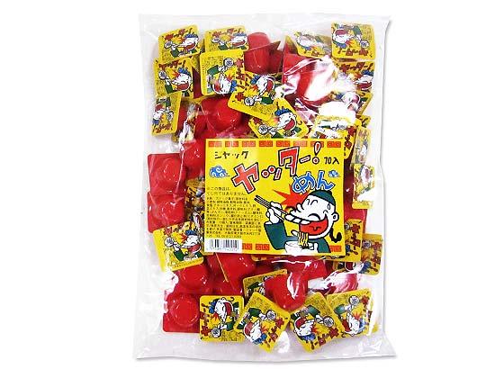 【駄菓子のまとめ買い・業務用の駄菓子】 ジャック ヤッターめん くじなし (70個入)