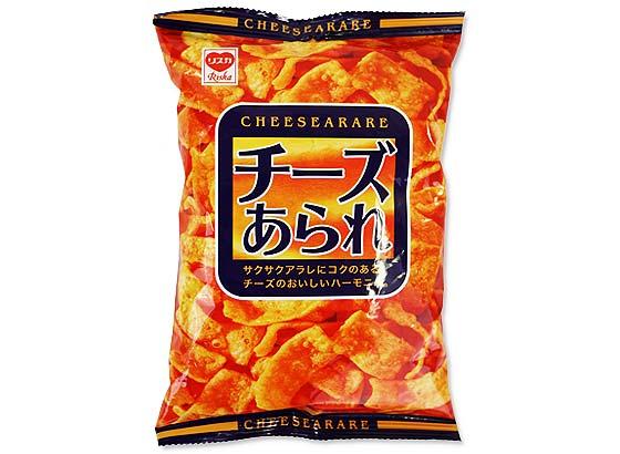 駄菓子のまとめ買い・スナック系の駄菓子 リスカ 30g チーズあられ (24袋入)