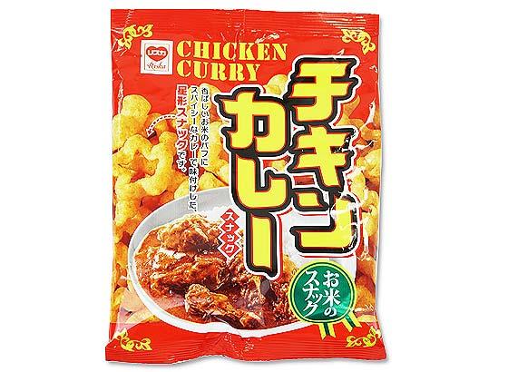 駄菓子のまとめ買い・スナック系の駄菓子 リスカ 35g チキンカレースナック (24袋入)