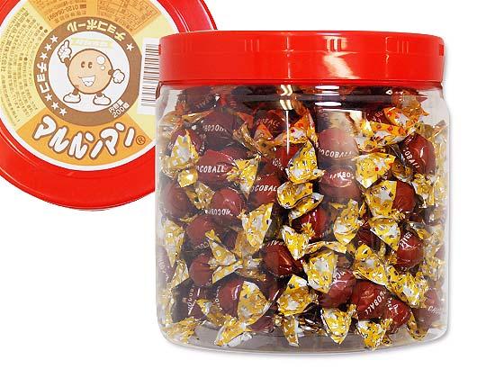 【駄菓子のまとめ買い・チョコ系の駄菓子】 タカオカ 360g マルルンマンチョコ