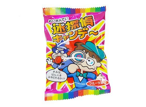 キッコー  迷探偵 キャンディ (40個入) 駄菓子 あめ 飴 キャンディ まとめ買い 箱買い
