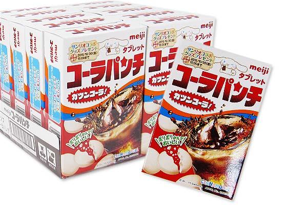 【お菓子のまとめ買い・ラムネ系のお菓子】明治 コーラパンチ タブレット 10箱