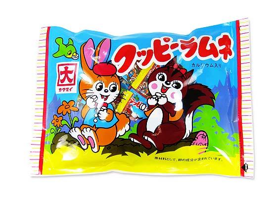 駄菓子のまとめ買い・ラムネ系の駄菓子】カクダイ ビックパッククッピー (60袋入)