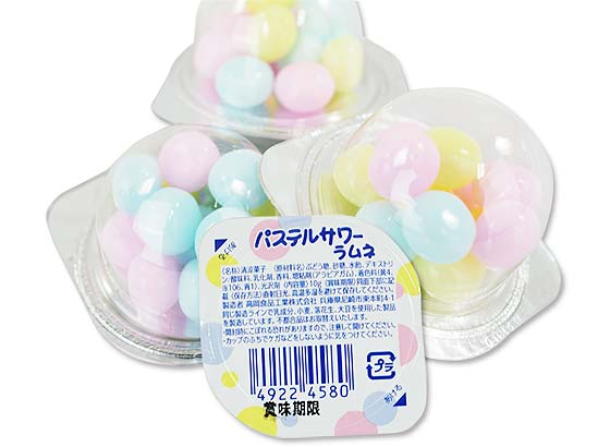 【駄菓子のまとめ買い・ラムネ系の駄菓子】 タカオカ パステルサワー ラムネ (20個入)