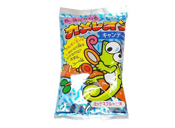 【駄菓子のまとめ買い・飴・チューイングの駄菓子】カメレオンキャンディ(30個入)【キッコー】