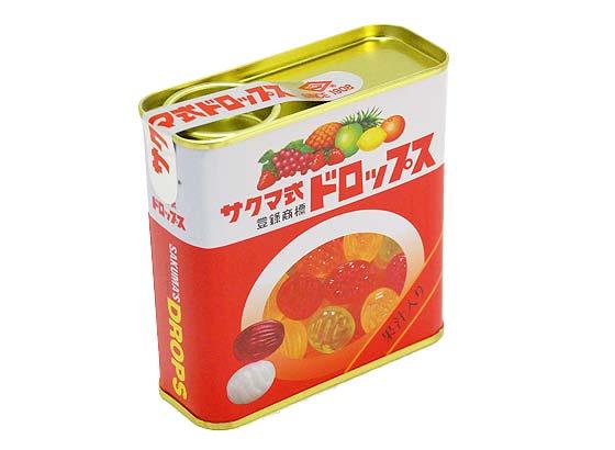 【お菓子のまとめ買い・キャンディ系のお菓子】 サクマ サクマ式ドロップス (10個入)