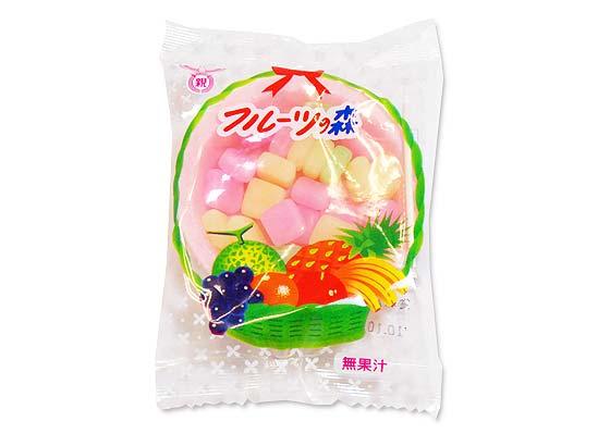 【駄菓子のまとめ買い・グミ・お餅系の駄菓子】 共親 フルーツの森 (24個入)