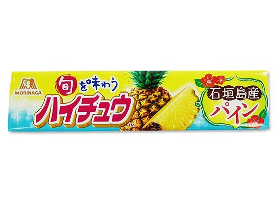 【お菓子のまとめ買い・チューイングキャンディ系のお菓子】森永 ハイチュウ 石垣島産パイン (12個入)