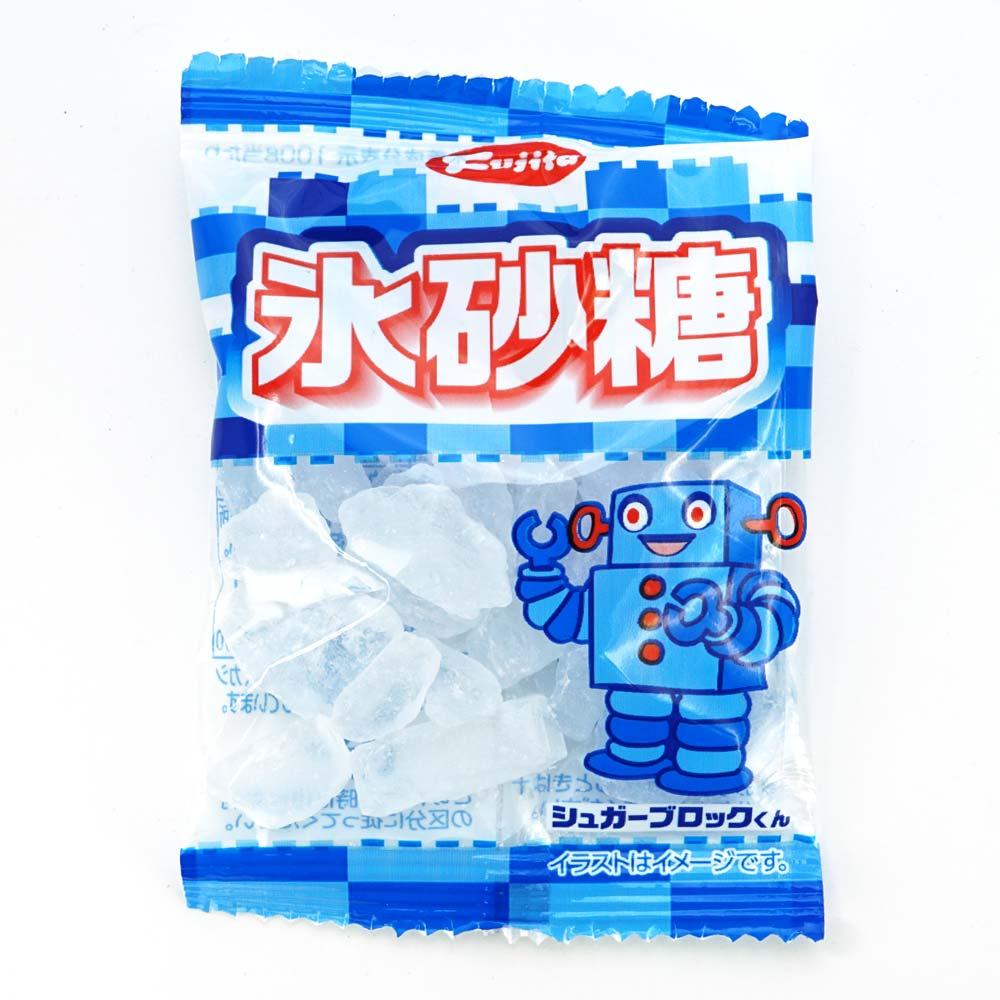 藤田 氷砂糖 20g (30袋入) こおり砂糖 氷糖 非常食 保存食 備蓄用