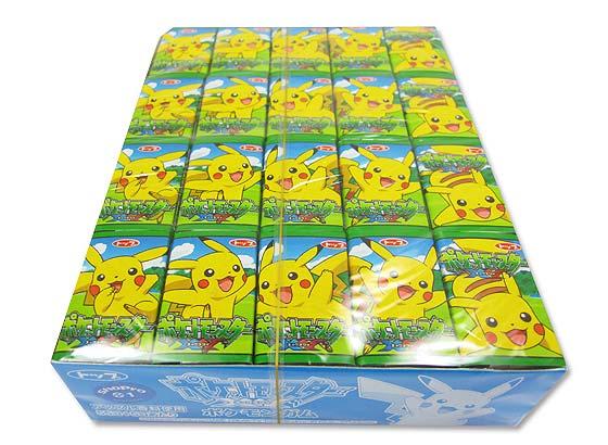 【駄菓子のまとめ買い・ガム系の駄菓子】 トップ ポケモンガム (55個+当たり5個入)