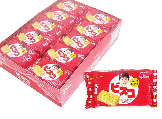 【お菓子まとめ買い・ビスケット・クッキー系のお菓子】 グリコ ミニパック ビスコ (20個入)