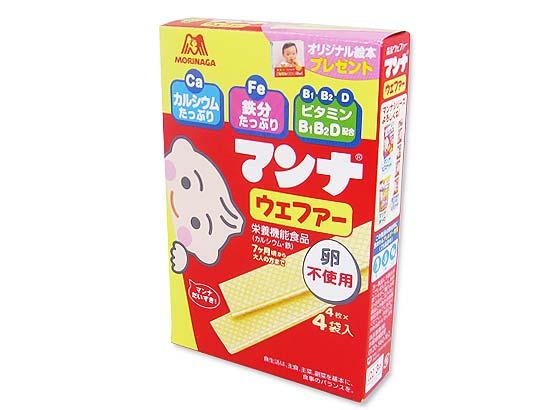 【お菓子まとめ買い・ビスケット・クッキー系のお菓子】 森永 マンナ ウエファー (6個入)