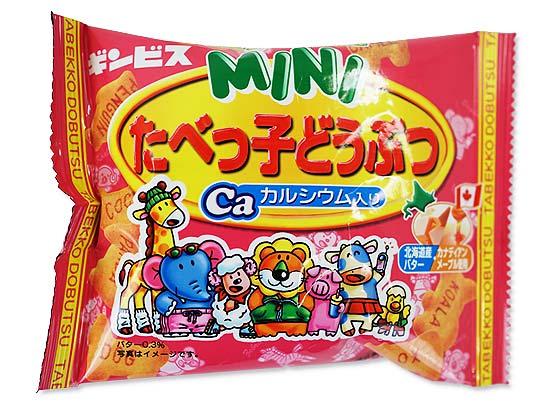 お菓子のまとめ売り・ビスケット系の駄菓子 ギンビス 30g たべっ子どうぶつMINI メープルバター味(10個入)