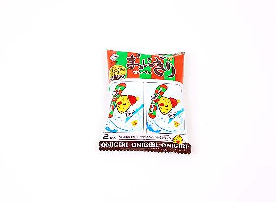 【お菓子のまとめ買い・おかき(あられ・おかき餅)】 2枚入りおにぎりせんべい(20個入)【マスヤ】