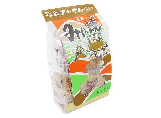 【お菓子のばら売り・おかき(あられ・おかき餅)】 みの焼(30枚入)【福盛堂】