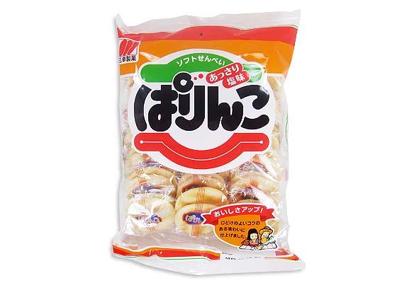 【お菓子のまとめ買い・おかき(あられ・おかき餅)】 三幸製菓 36枚 ぱりんこ (12個入)