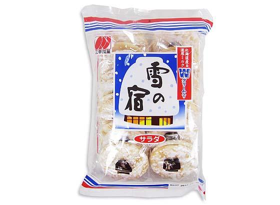 【お菓子のまとめ買い・おかき(あられ・おかき餅)】 三幸製菓 24枚 雪のやど (12個入)