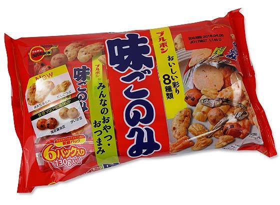 ブルボ ン 味ごのみ6パック (12個入)