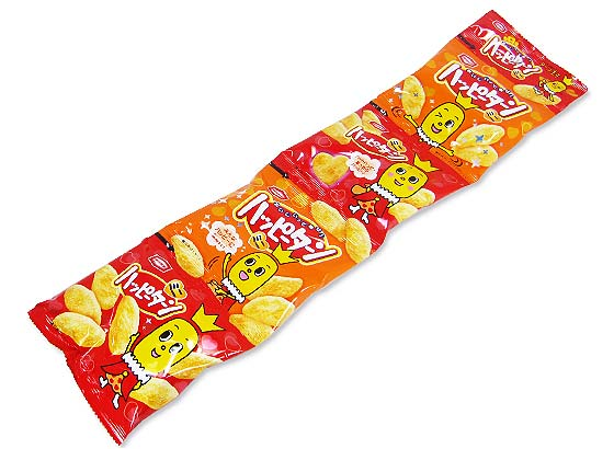 【お菓子のまとめ買い・おかき(あられ・おかき餅)】 亀田 ハッピーターンミニ4連 (バラ売り)