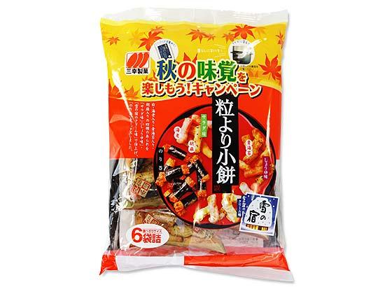 お菓子のまとめ買い・米菓・せんべい系のお菓子 三幸製菓 6パック 粒より小餅(12個入)