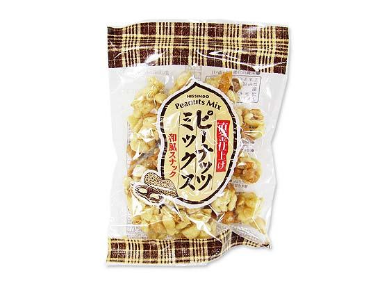 【お菓子のまとめ買い・おかき(あられ・おかき餅)】日新堂 直釜仕上げピーナッツミックス 75g (20袋)