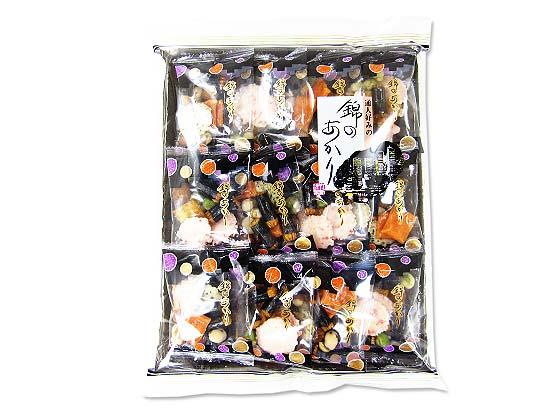 【お菓子のバラ売り・おかき(あられ・おかき餅)】 竹新製菓 通人好みの錦のあかり  (12袋)