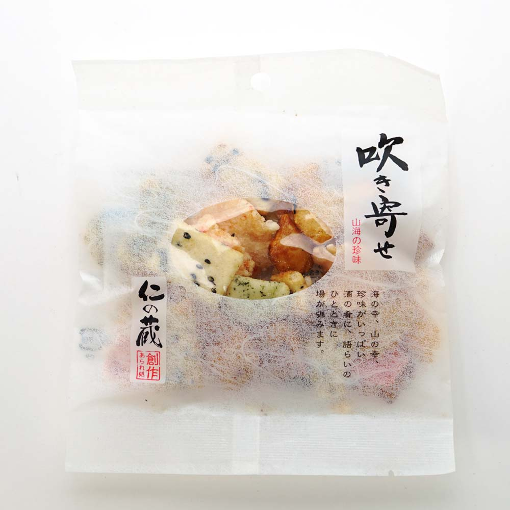 高橋製菓 仁の蔵 吹き寄せ 30g (12個入) お菓子 国産 銘菓 あられ 米菓 まとめ買い