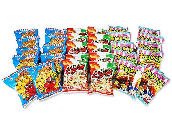 【駄菓子セット・お菓子の詰め合わせ】 松山製菓 テキサスコーン 3種180個 詰め合わせセット