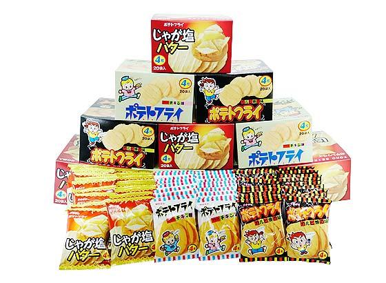 駄菓子セット・お菓子の詰め合わせ 東豊製菓 ポテトフライ 3種240個 詰め合わせセット