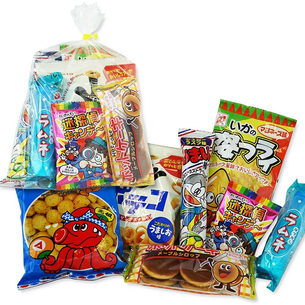 【駄菓子セット・お菓子の詰め合わせ】 河中堂 200円 お菓子詰め合わせ Cセット