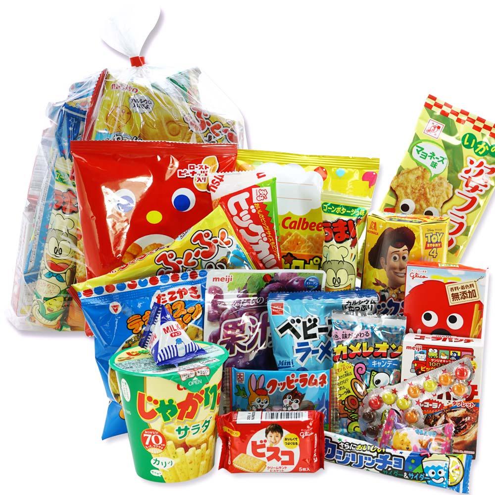 1000円 お菓子 袋 詰め合わせ セットA 【 全国、数量関係なく2個口以上でも追加の 送料無料 】