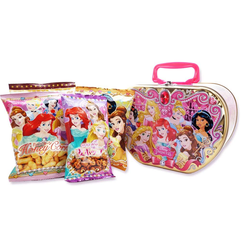 クリスマス限定 お菓子 詰め合わせ ディズニープリンセス ハンド缶