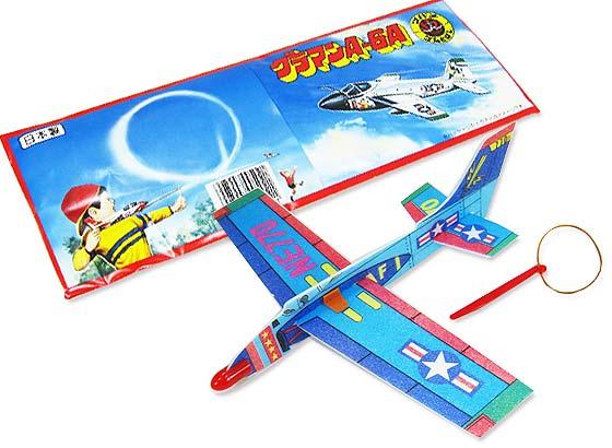 【ファンシー・バラエティ玩具】 ツバメゴムとばし飛行機(30個入り)